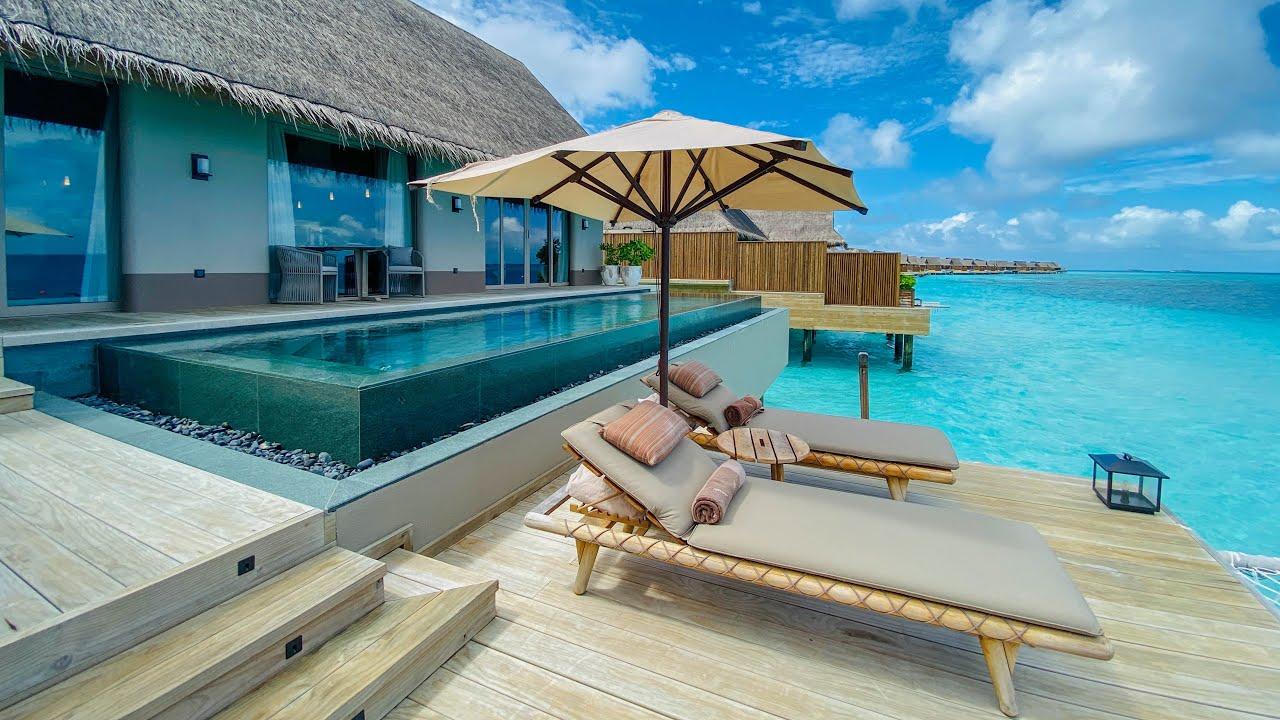 Top 5 des Hôtels de Luxe aux Maldives !