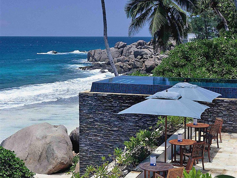 piscine hotel seychelles